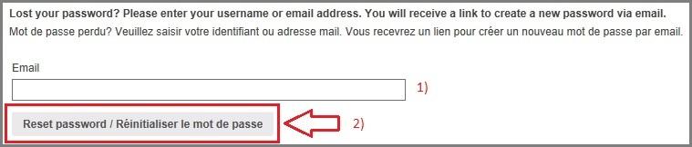 Reinit Password